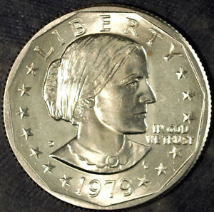 1979 D SUSAN B. ANTHONY DOLLAR  UNCIRCULATED  FRESH FROM MINT SET 132