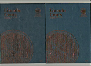 MUST SEE   1909 1976 WHITMAN FOLDERS LINCOLN CENT PENNIES STARTER COLLECTION LOT