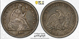 1848 SEATED LIBERTY DOLLAR PCGS XF 40 ALL ORIGINAL NEW SECURITY CASE  VERY