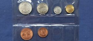 1967 YEAR SET UNCIRCULATED LUSTRE COMPLETE UK / GB