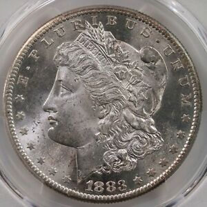 Click now to see the BUY IT NOW Price! 1883 S MORGAN $1 PCGS CAC CERTIFIED MS64  PLUS GRADED SAN FRANCISCO DOLLAR