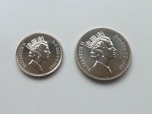 1989 PROOF 5P & 10P HIGH CATALOGUE VALUE