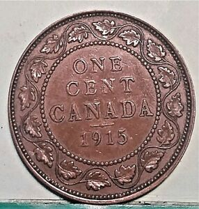 1915 CANADA LARGE CENT BETTER COLLECTOR GRADE COIN