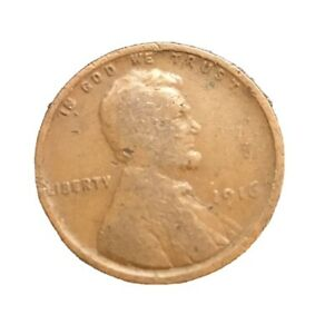 1916 P LINCOLN WHEAT PENNY GOOD BUY WELL CIRCULATED 2378 SHIPS FREE