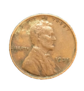 1935 P LINCOLN WHEAT CENT / PENNY BN CIRCULATED 2086 SHIPS FREE