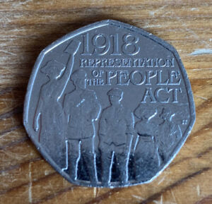 1918 REPRESENTATION OF THE PEOPLES ACT 50P