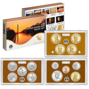 Click now to see the BUY IT NOW Price! 2014 S UNITED STATES MINT PROOF SET CAMEO 14 PC COINS KENNEDY ATB $1 DIME PENNY
