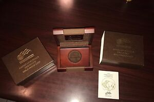 2009 W GOLD BUFFALO ONE OUNCE PROOF BOX AND COA ONLY