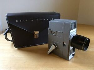 bell howell super 8 video movie camera 8mm