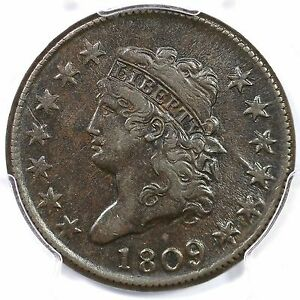 Click now to see the BUY IT NOW Price! 1809 S 280 R 2 PCGS XF 45 CLASSIC HEAD LARGE CENT COIN 1C EX; RALLS