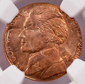 Click now to see the BUY IT NOW Price! NGC 5C 2000 P JEFFERSON NICKEL ON 1961 LINCOLN CENT DOUBLE DENOMINATION MS 64 RB