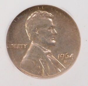 Click now to see the BUY IT NOW Price! NGC 1C 1964 D LINCOLN CENT ON DIME PLANCHET AU 53