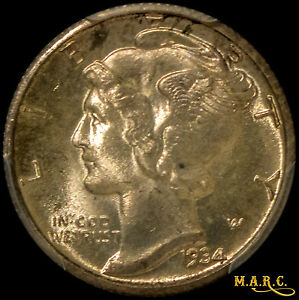 Click now to see the BUY IT NOW Price! 1934 D MS66FB PCGS 10C MERCURY DIME DAZZLING GEM WITH A TOUCH OF RIM TONING