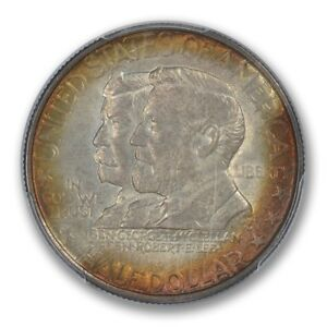 Click now to see the BUY IT NOW Price! ANTIETAM 1937 50C SILVER COMMEMORATIVE PCGS MS67  CAC  TONER