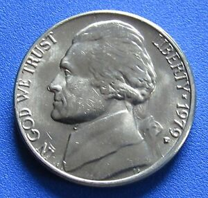 1979 D 5C JEFFERSON NICKEL   MINT CONDITION   FREE DOMESTIC SHIPPING