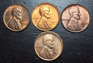 1936 1938 1942 S 1946 S LINCOLN CENT WHEAT PENNY      MAKE US AN OFFER   Y8332