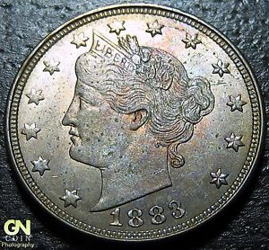 1883 NO CENTS LIBERTY V NICKEL      MAKE US AN OFFER   Y2076