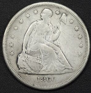 Click now to see the BUY IT NOW Price! 1860 O SEATED LIBERTY SILVER DOLLAR