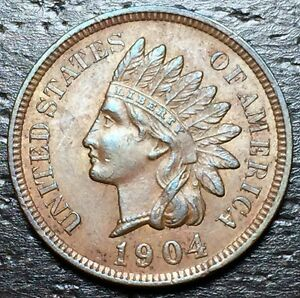 1904 INDIAN HEAD CENT      MAKE US AN OFFER   Y8545