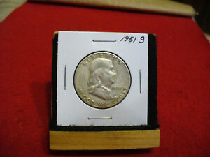 Click now to see the BUY IT NOW Price! 1951S   BEN FRANKLIN   HALF  DOLLAR      50 CENT PIECE   COIN   51S  GOOD GRADE