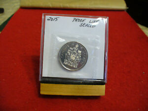 Click now to see the BUY IT NOW Price! 2015 CANADA  HALF  DOLLAR TOP GRADE  50 CENT PIECE  15  PROOFLIKE  SEALED
