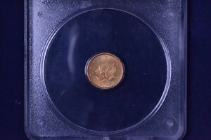1851 $1 LIBERTY HEAD GOLD DOLLAR UNCIRCULATED PCGS MS 61 9010645