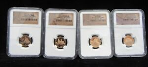 2009 S LINCOLN CENTS BICENTENNIAL SET NGC SEALED CASE PROOF 69 ULTRA CAMEO