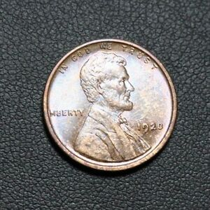 Click now to see the BUY IT NOW Price! 1920 TONING TONED COLOR LINCOLN WHEAT CENT   HIGHER GRADE