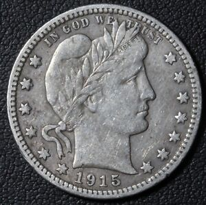 Click now to see the BUY IT NOW Price! 1915 BARBER SILVER QUARTER