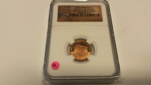2009 S BRONZE 1C BIRTH & CHILDHOOD PF 69 UC NGC