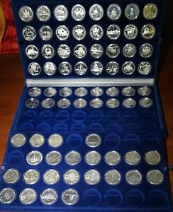 Click now to see the BUY IT NOW Price! COLLECTION OF CANADA SILVER DOLLAR PIECES: 1935 TO 2018   AMAZING CDN $1 SET