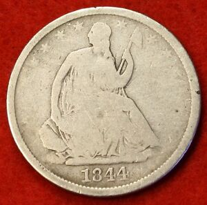 1844 O SEATED LIBERTY HALF DOLLAR G BEAUTIFUL COIN CHK OUT STORE SH25