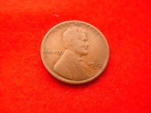 1922 D LINCOLN CENT SUPERIOR COIN    140