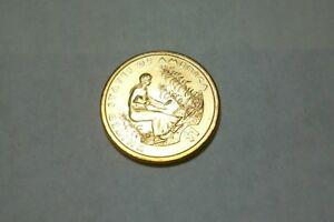 2009 P NATIVE AMERICAN SACAGAWEA BRILLIANT UNCIRCULATED DOLLAR FROM MINT ROLL