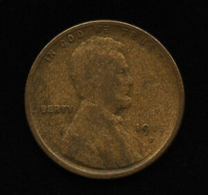 1915 S 1C US LINCOLN ONE CENT WHEAT PENNY KEY SF TYPE COIN G GOOD