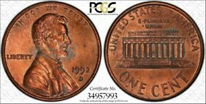 Click now to see the BUY IT NOW Price! 1992 D 1C PCGS MS62RB CLOSE AM FS 901