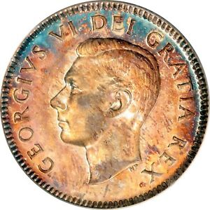 Click now to see the BUY IT NOW Price! 1948 CANADIAN SILVER 10 CENTS PCGS SP 66