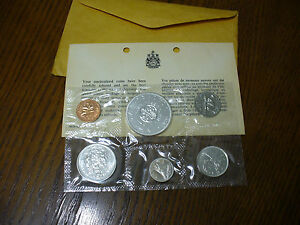 Click now to see the BUY IT NOW Price! 1964 CANADA PROOFLIKE SET  SILVER COINS  DOLLAR  HALF DOLLAR  QUARTER  DIME