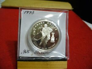 Click now to see the BUY IT NOW Price! 1993  CANADA  SILVER DOLLAR  COIN   HIGH   GRADE   93   SEALED         1$