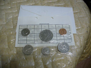 Click now to see the BUY IT NOW Price! 1983  CANADA   PROOF  LIKE SET  COINS  DOLLAR  HALF DOLLAR QUARTER  DIME NICKEL