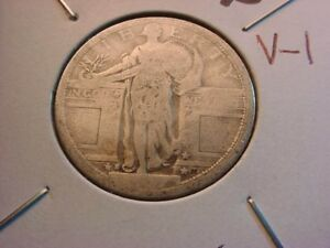 1917 S TYPE I STANDING LIBERTY QUARTER NICE COIN    10