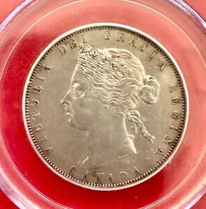 Click now to see the BUY IT NOW Price! 1890 H CANADA SILVER HALF DOLLAR 50 CENT COIN PCGS XF 45