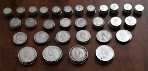 Click now to see the BUY IT NOW Price! LOT OF 220 CANADA SILVER COINS: 1902 1968 INCL. 7 X 1936 GEORGE V $1.00 COINS