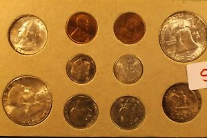 Click now to see the BUY IT NOW Price! 1953US DOUBLE MINT SETVERY COLORFUL AND BROWNISH MINT SET TONING