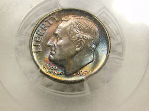 Click now to see the BUY IT NOW Price! 1959 SILVER ROOSEVELT DIME CERTIFIED PCGS SUPERB GEM MS67  FB FULL TORCH/BAND PQ