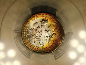 Click now to see the BUY IT NOW Price! 1964 D SILVER ROOSEVELT DIME CERTIFIED PCGS SUPERB GEM MS67  FB FULL BAND QA