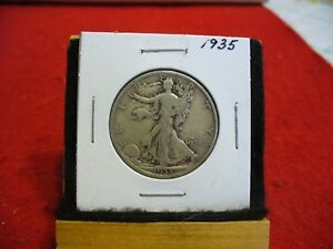 Click now to see the BUY IT NOW Price! 1935   WALKER  LIBERTY WALKING  HALF  DOLLAR      50 CENT PIECE   COIN  35