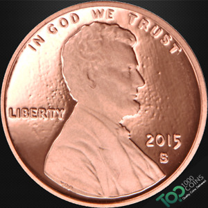 2015 S  1  LINCOLN SHIELD CENT   PR SOLID GEM PROOF RED DEEP CAMEO   537565BBG