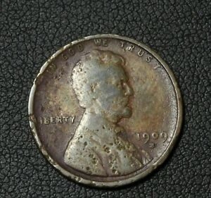 Click now to see the BUY IT NOW Price! 1909 S LINCOLN WHEAT CENT PENNY   ENVIRONMENTAL DAMAGE