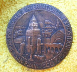 Click now to see the BUY IT NOW Price! 1915 S PANAMA PACIFIC EXPOSITION ARBETET ADLAR SWEDISH.  LY  50MM